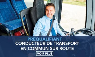 Pré-qualifiant au métier de Conducteur de Transport en Commun sur Route